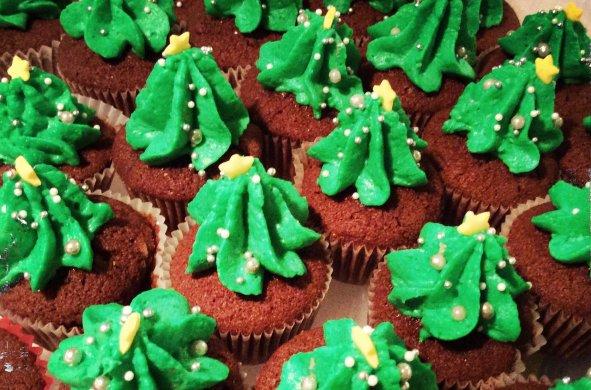 cupcake sapins